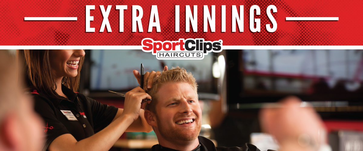 The Sport Clips Haircuts of Apex Extra Innings Offerings