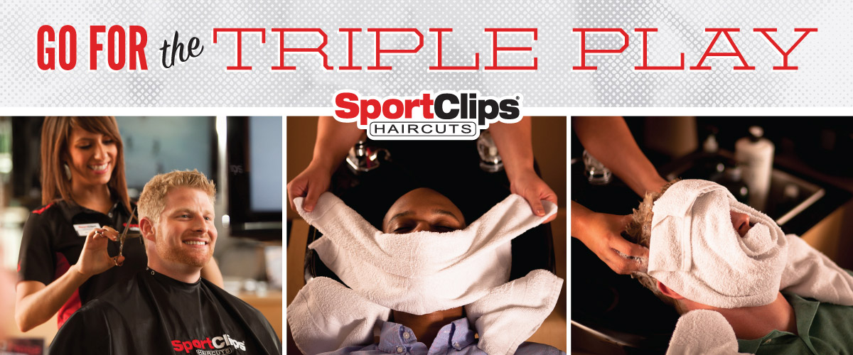 The Sport Clips Haircuts of Apex Triple Play